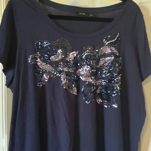 Apt 9 sequin top really pretty size 2x